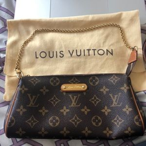 Authentic Louis Vuitton Eva clutch (Discontinued)